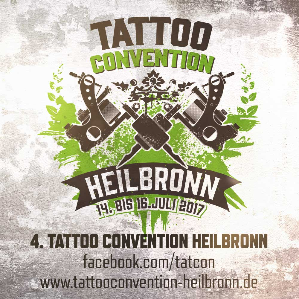 Tattooconvention Heilbronn 2017 Flyer